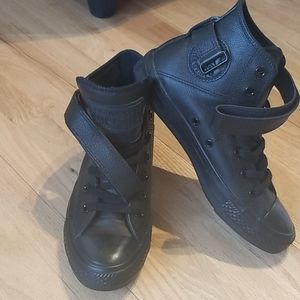 High top converse- Strap up